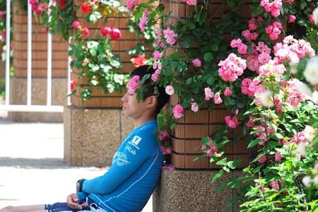 2015.05.17 2015世界トライアスロンシリーズ横浜大会 休息