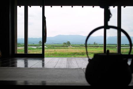 2011.07.27 越後 福島潟 潟来亭 囲炉裏