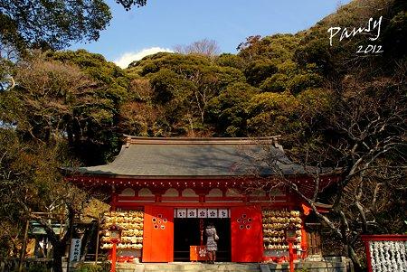 御拝殿・・荏柄天神社・・11