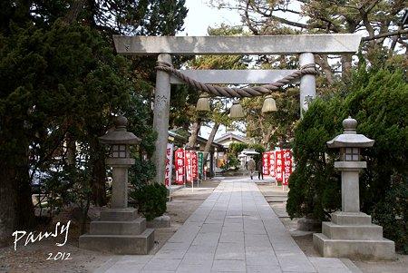 森戸神社・・1