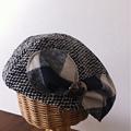写真: リボンベレー帽