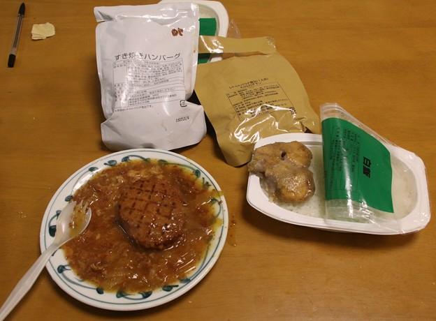 非常用糧食 すき焼きハンバーグ