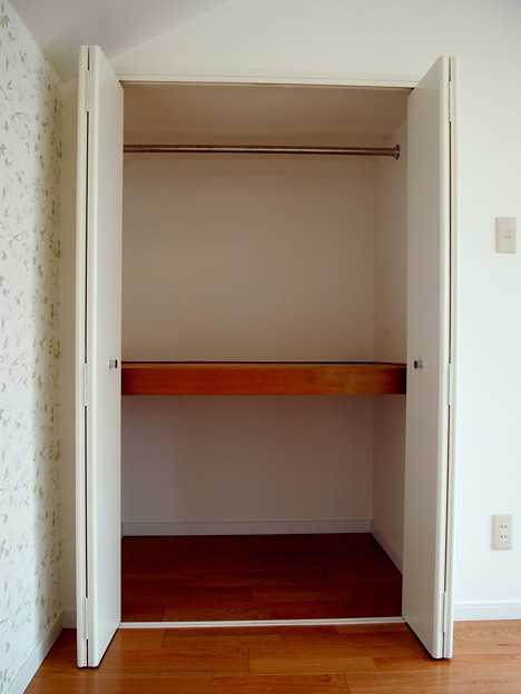 301号室~寝室収納