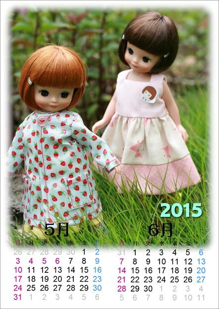 ドールカレンダー201505-06