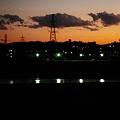 Photos: 多摩川の夕景