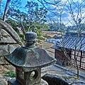 岡山後楽園の燈籠