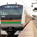 E233系宮ヤマU233編成上野東京ライン伊東行き1593E