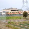 Photos: 車窓に!旧型キハの並びヽ(^o^)丿 関東鉄道常総線水海道~小絹