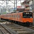 大阪環状線外回り201系京橋進入