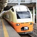 Photos: 宇都宮線さいたま新都心を通過するE653系いなほ編成