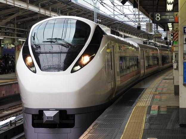 Photos: E657系K11編成ひたち9号東京8番発車!