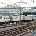 Photos: 鉄道ふれあいフェア展示終えて大宮総合車両センターから引き上げる185系C1編成