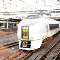 Photos: 651系回送大宮7番発車 回送線へ