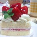 写真: 今日もショートケーキ食べるよ!!!