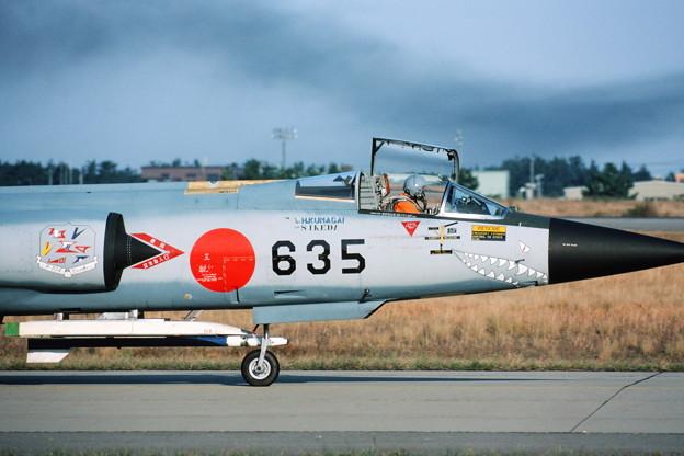 F-104J 46-8635 Nose 1984Nov