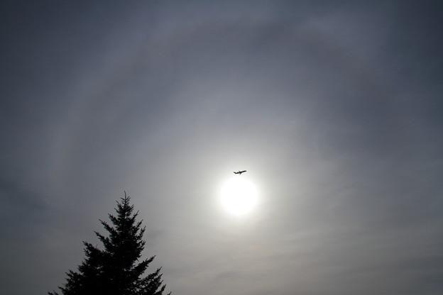 CRJ200 日暈