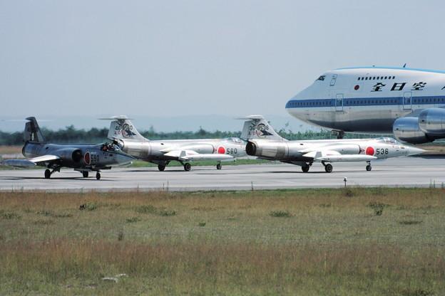 F-104J APW+B747 ANA 80Aug