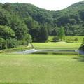 写真: 足利城ゴルフ倶楽部15番ショートホール画像2015.5.27