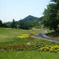 写真: 足利城ゴルフ倶楽部1番ティーのコース画像2015.5.27