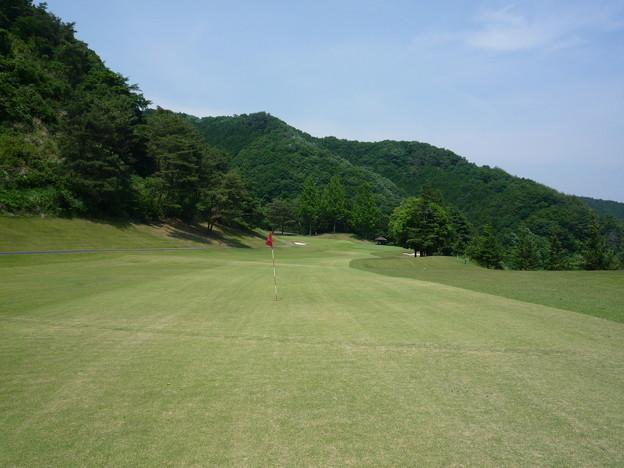 写真: 足利城ゴルフ倶楽部7番ミドルホール画像2015.5.27