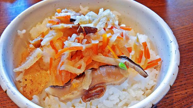 大戸屋 ( 成増 )  カラスガレイの煮つけ定食 ( ご飯 )