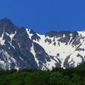 晴れた日の駒ケ岳