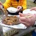 Photos: 和牛の朴葉味噌焼き