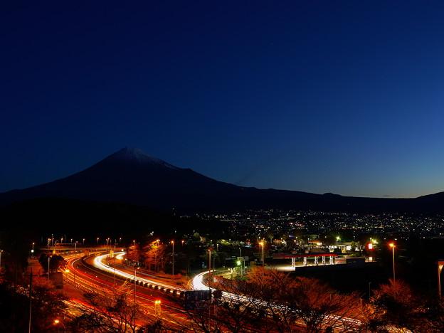 富士山と富士川SA