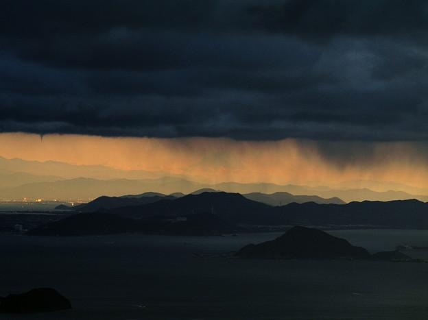 ♪空と海とのあいだには~ 富士山