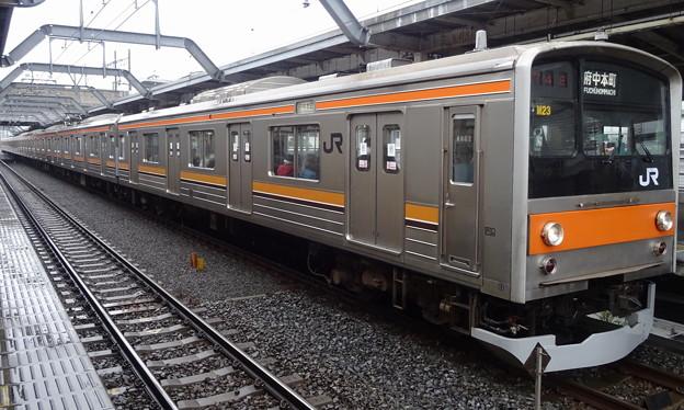 JR東日本千葉支社 武蔵野線205系(報知杯弥生賞当日)