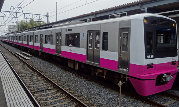 新京成電鉄新京成線N800形(皐月賞当日)