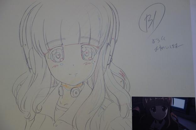 ガルパン展 アニメ展示パネル