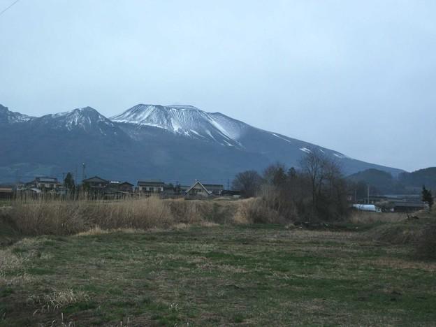 浅間山(小雨模様)