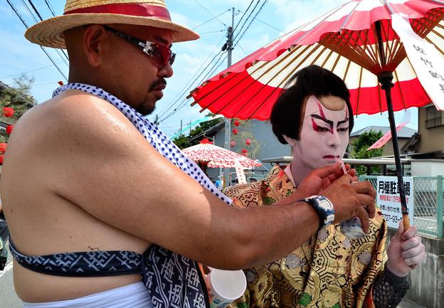 歌舞伎行列祭り-1