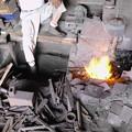 鍛冶屋と炎