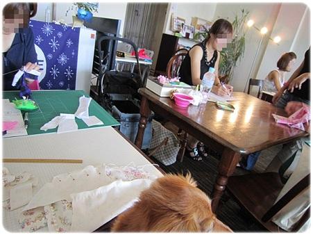 20110818 犬服教室(1) 受講中