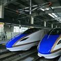 金沢駅 北陸新幹線 W7系、E7系