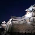 金沢城と桜(2)