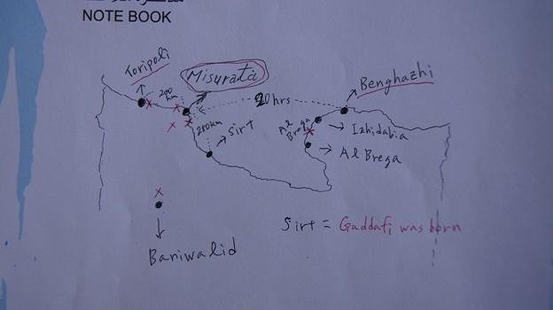 戦況地図6月27日