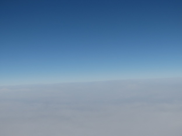 Photos: 空平線。