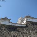 帯の櫓と帯郭櫓と天守