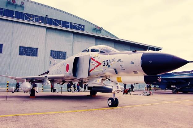 小牧基地航空祭。。岐阜基地のスペシャル塗装機F-4ファントム。。? 3月15日
