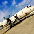 写真: 小牧基地航空祭。。厚木基地から海上自衛隊P-3C 3月15日