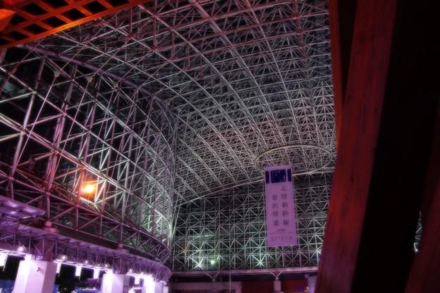 開業前だった金沢駅もてなしドーム・・20140919