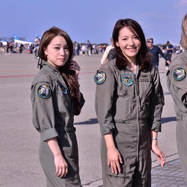 小松基地航空祭にいたモデルさん・・