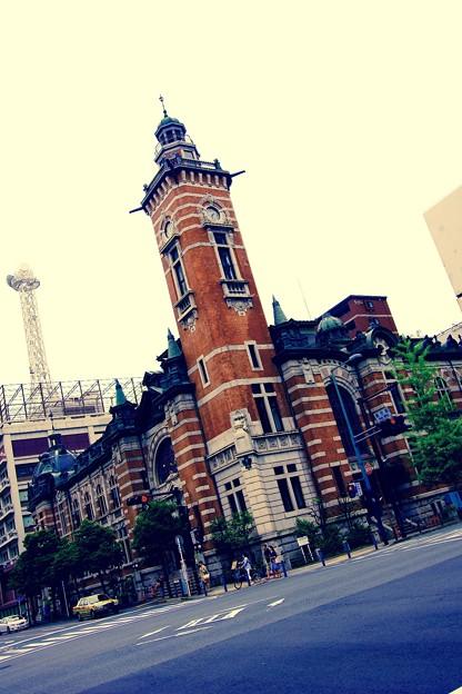 ノスタルジックな横浜開港記念館。。5月9日