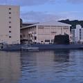 無事横須賀基地に接岸した潜水艦・・20141025