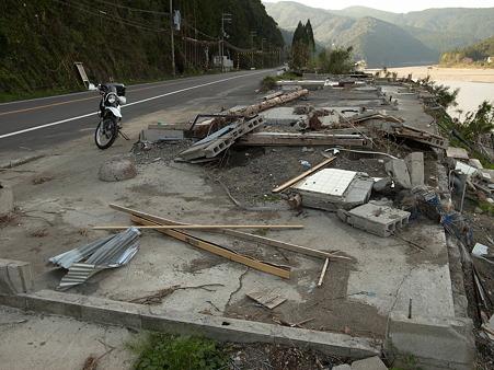 国道168号線・台風12号その後-27