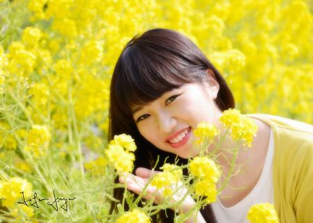 瑛美菜の花アップ2L