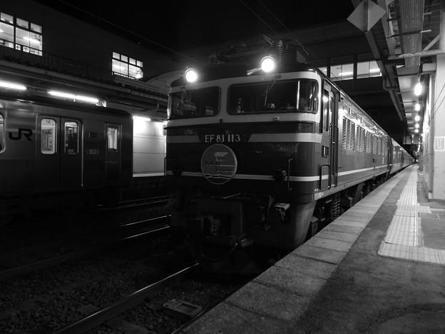 EF81-113牽引 トワイライトエクスプレス